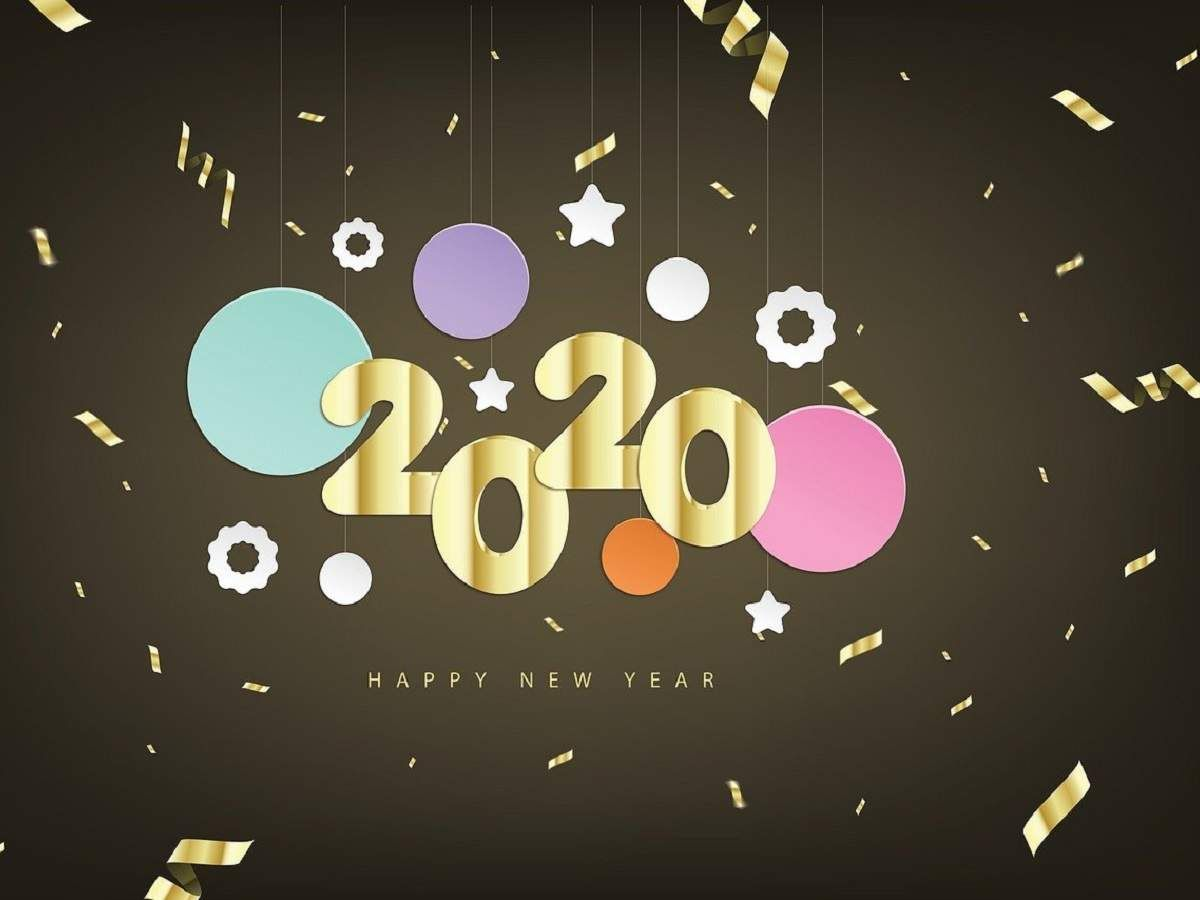 Happy New Year 2020 Wishes Photos Images Messa